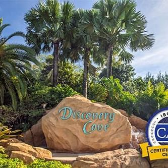 Discovery Cove entrance