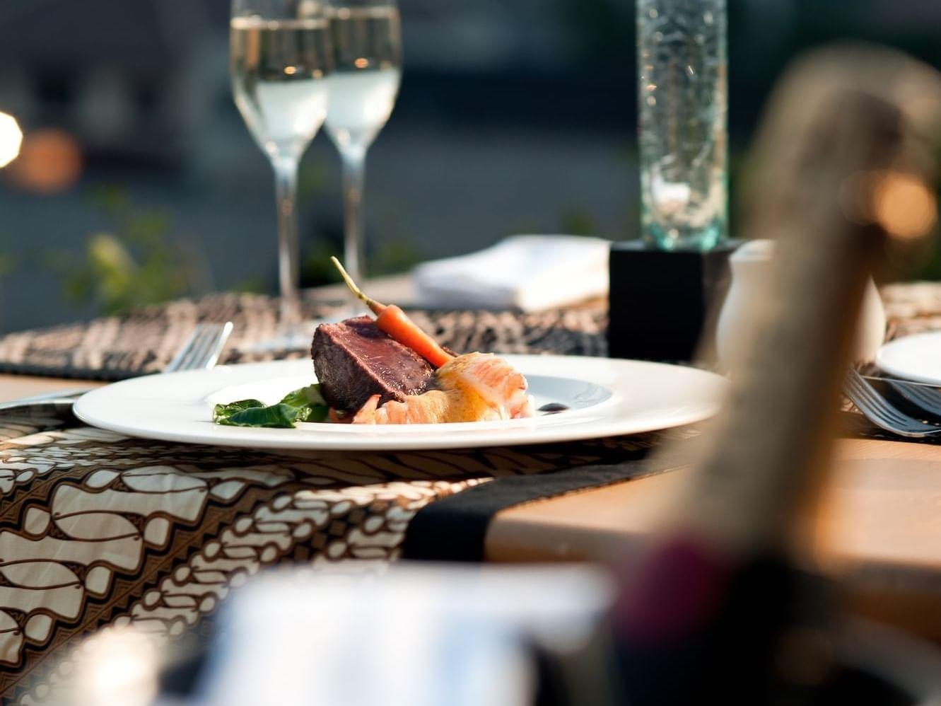 Signature Dishes  at U Hotels and Resorts