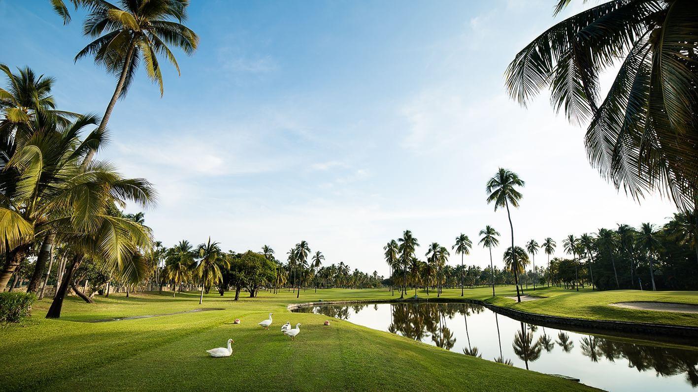 Golf course at Princess Mundo Imperial