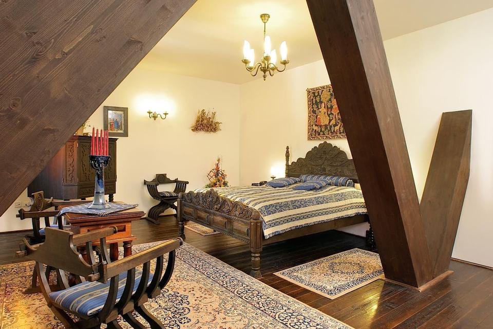 Deluxe Room at Hotel Ruze, Český Krumlov, Czech Republic
