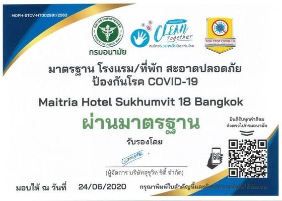 Maitria Hotel Sukhumvit 18 Award
