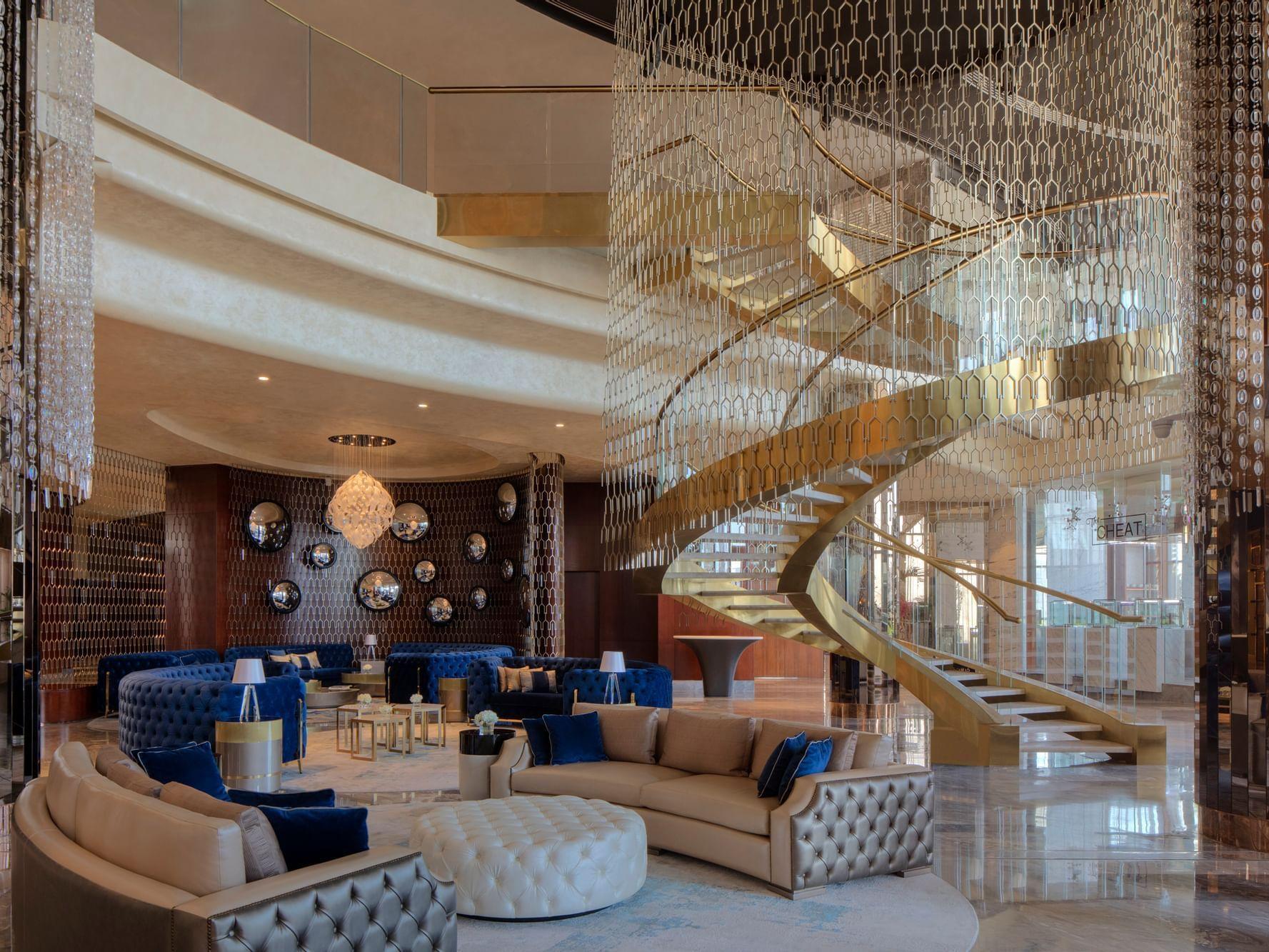 Lobby at Paramount Hotel Dubai