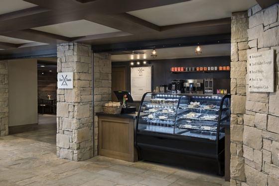 pastries at a café