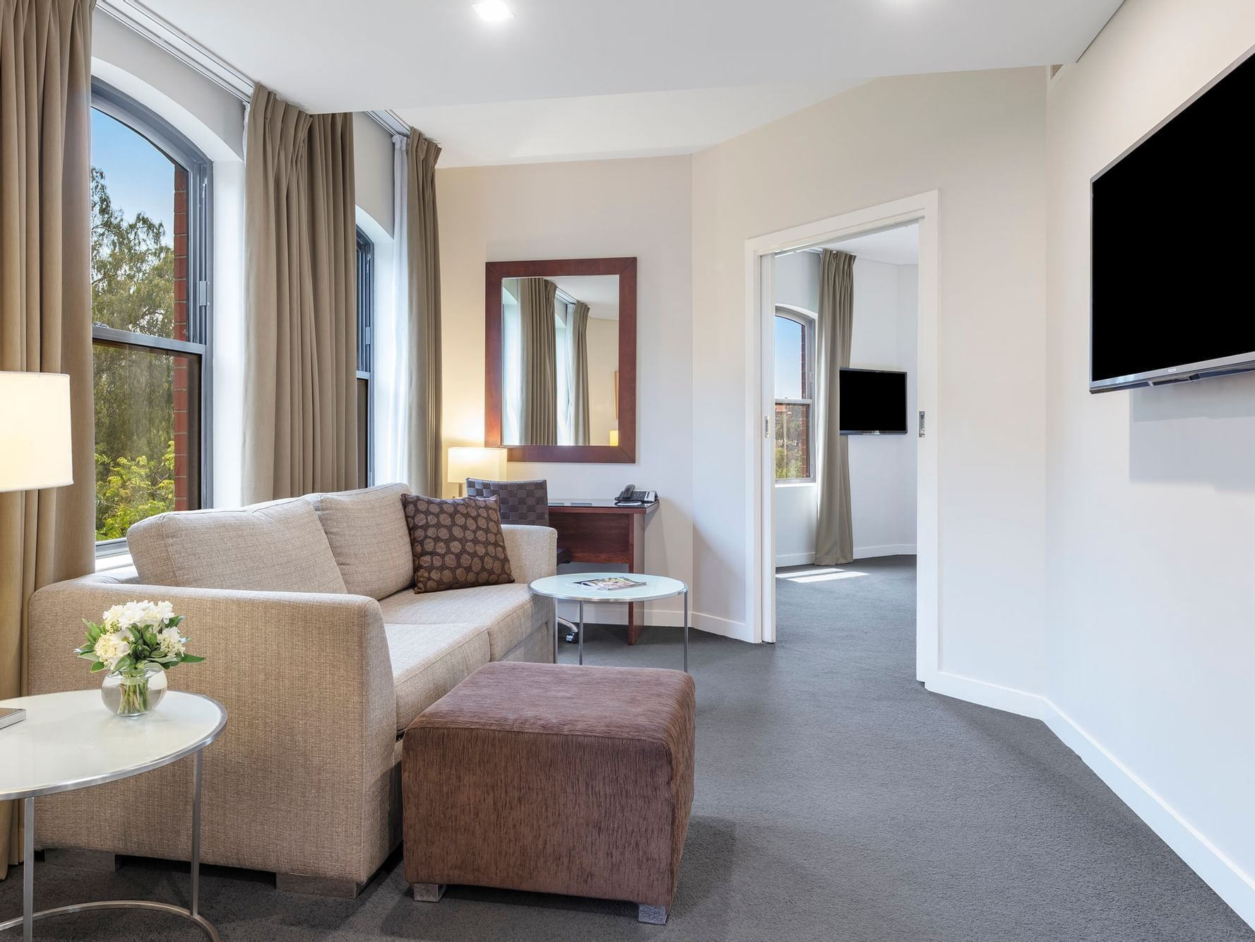 Superior Riverview Spa Suite at Amora Hotel