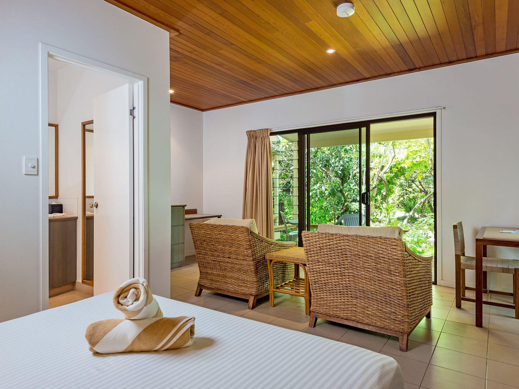 Turtle Room at Heron Island Resort in Queensland, Australia