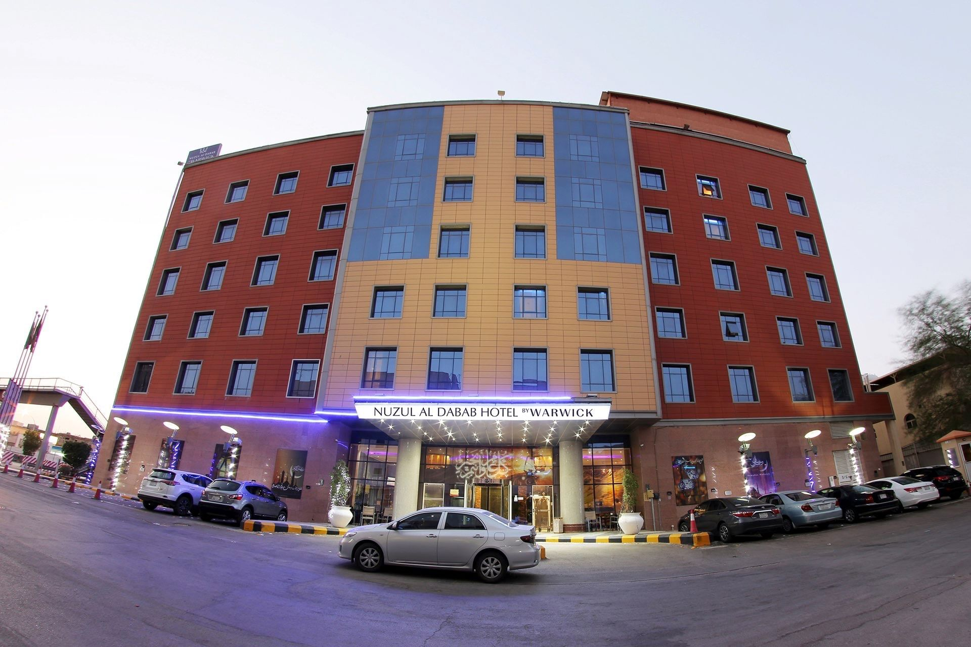Dabab Hotel by Warwick Building Front