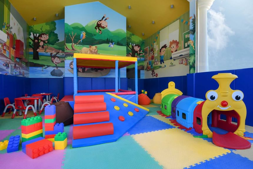 view of the kids zone at Al Aziziyah Boutique Hotel Doha