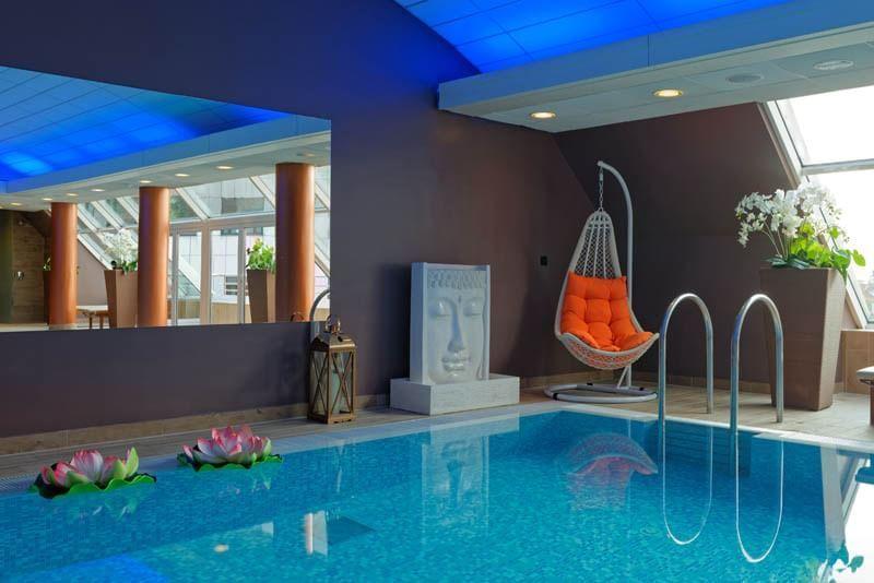 Pool at Grand Hotel Union in Ljubljana