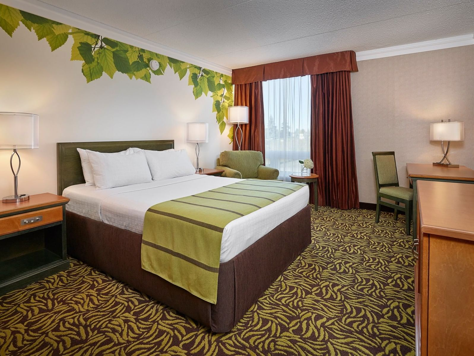 Accessible Room with a king size bed at Varscona Hotel on Whyte