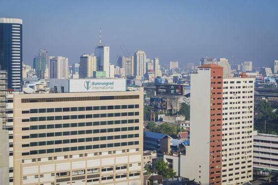 Bumrungrad International Hospital  near dream Thailand Bangkok
