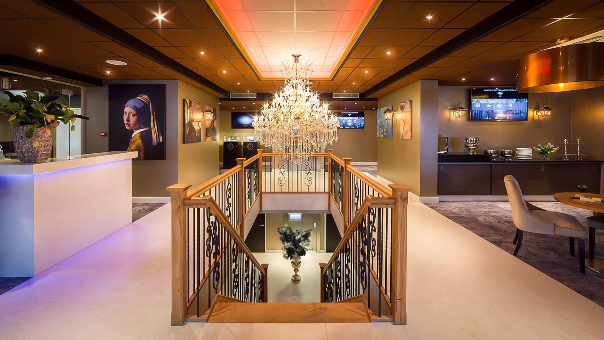 Luxury Suites Amsterdam Lobby