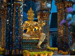 Erawan Shrine near Chatrium Hotel Riverside Bangkok