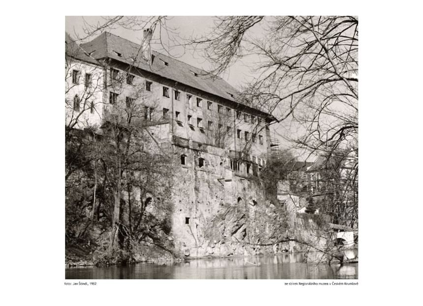 1982 - Hotel Ruze, Český Krumlov, Czech Republic