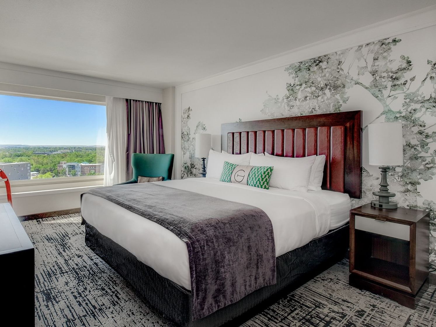 suite at grove hotel in boise