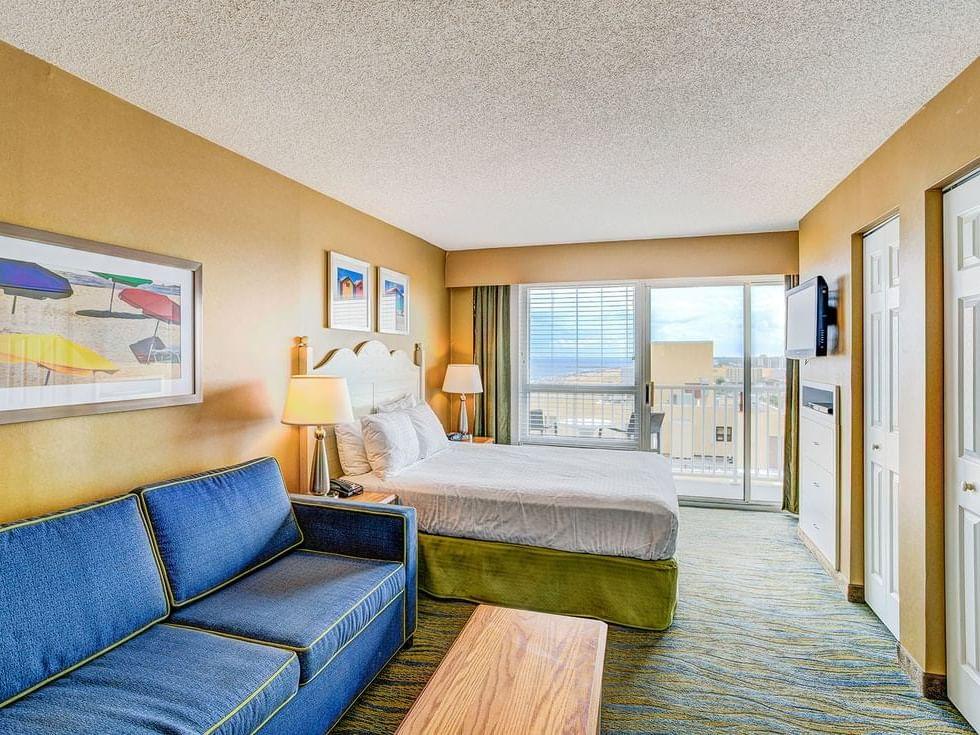Two bedroom suite ocean view at Diamond Resorts Virginia Beach