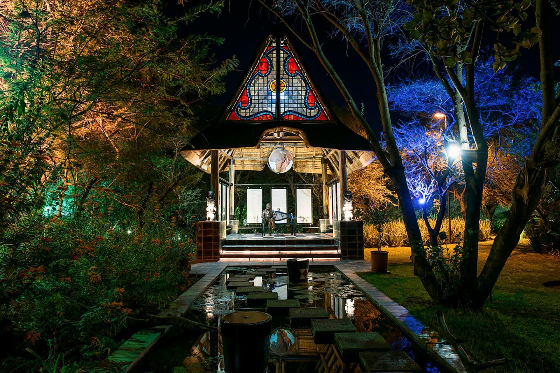 Night view Kedar Heritage Lodge by Warwick