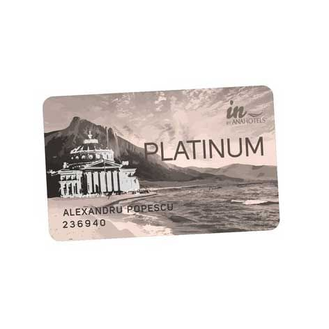 A Platinum Card of Ana Hotels in Romania