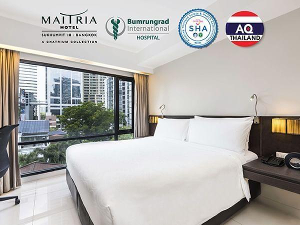 Banner of Superior Standard Room at Maitria Hotel Sukhumvit 18 Bangkok