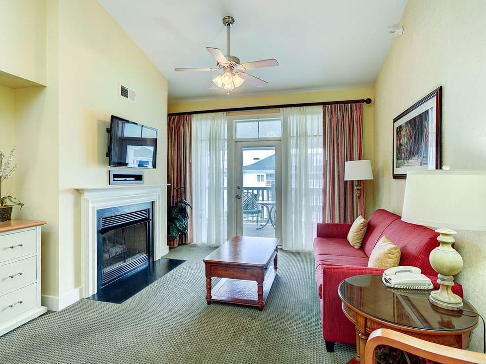Two bedroom suite at Diamond Resorts Virginia Beach