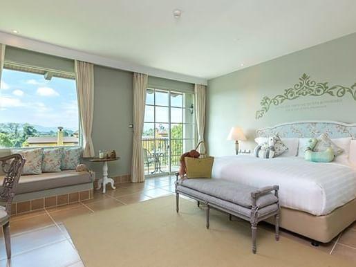 Superior Lake View room at U Hotels and Resorts