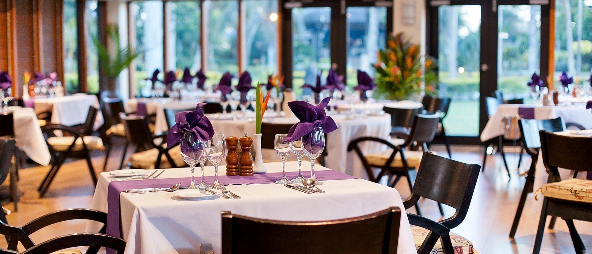 Nkunku Restaurant Inside at Naviti Resort