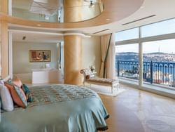 Suite with a terrace at CVK Park Bosphorus Hotel Istanbul