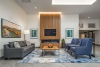 Lobby Seating and Fireplace