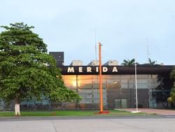 Exterior view of Merida International Airport