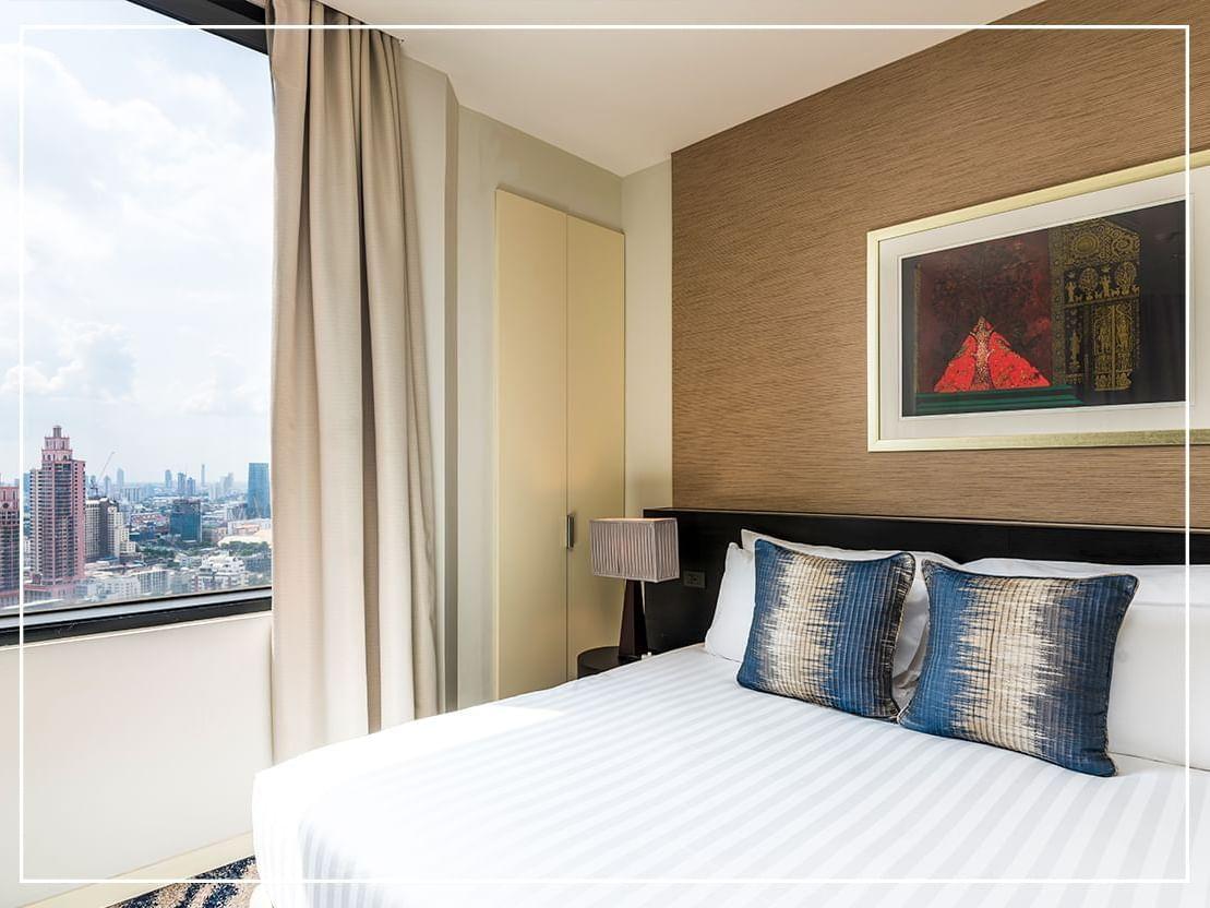 Superior Suite City View at Emporium Suites by Chatrium
