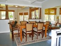 Cottage dining room at Waimea Plantation Cottages