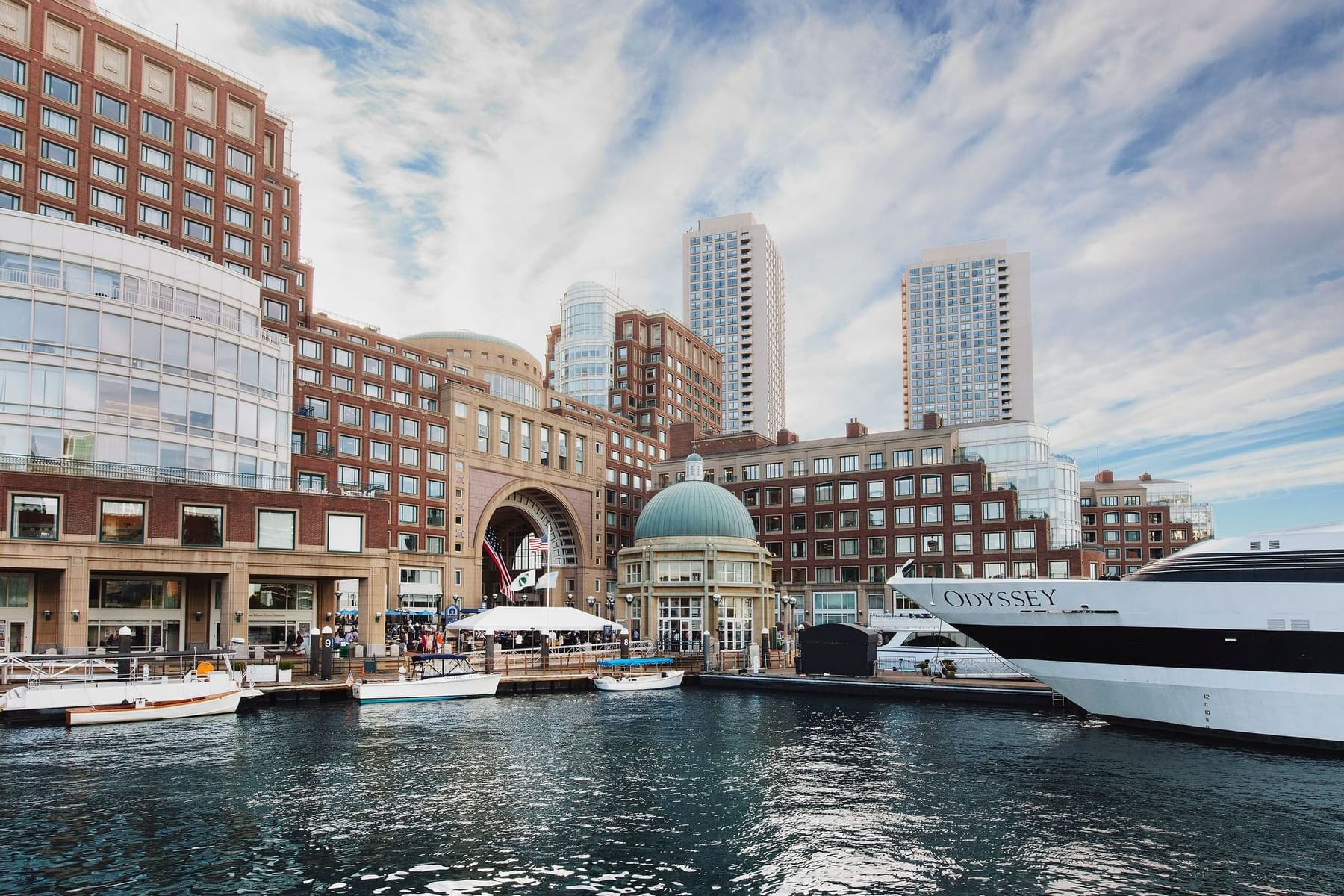 View from the Boston Harbor