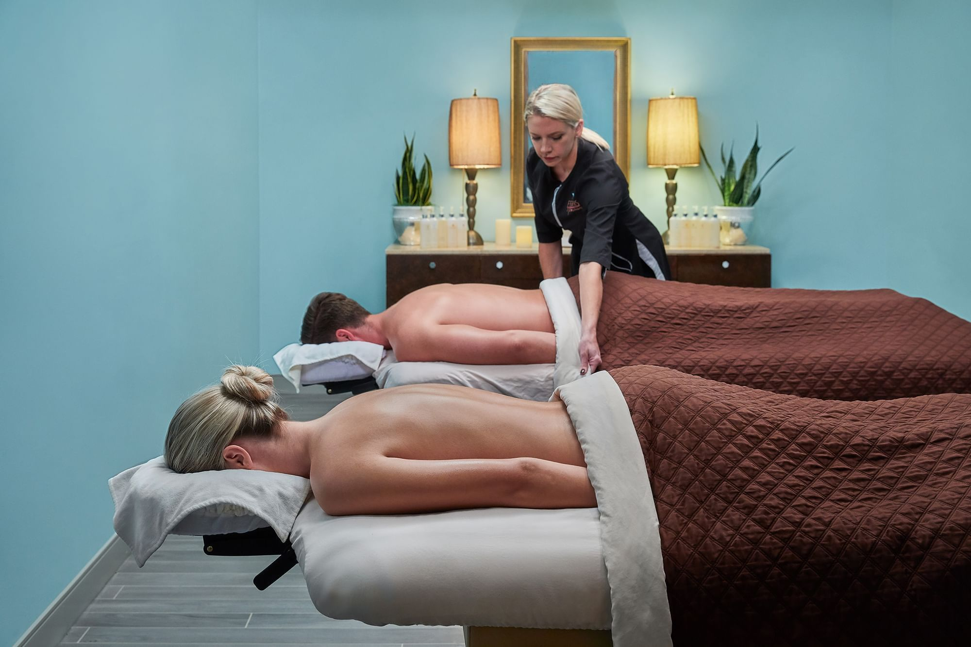Couples Massage - Feathers Spa at The Peabody Memphis