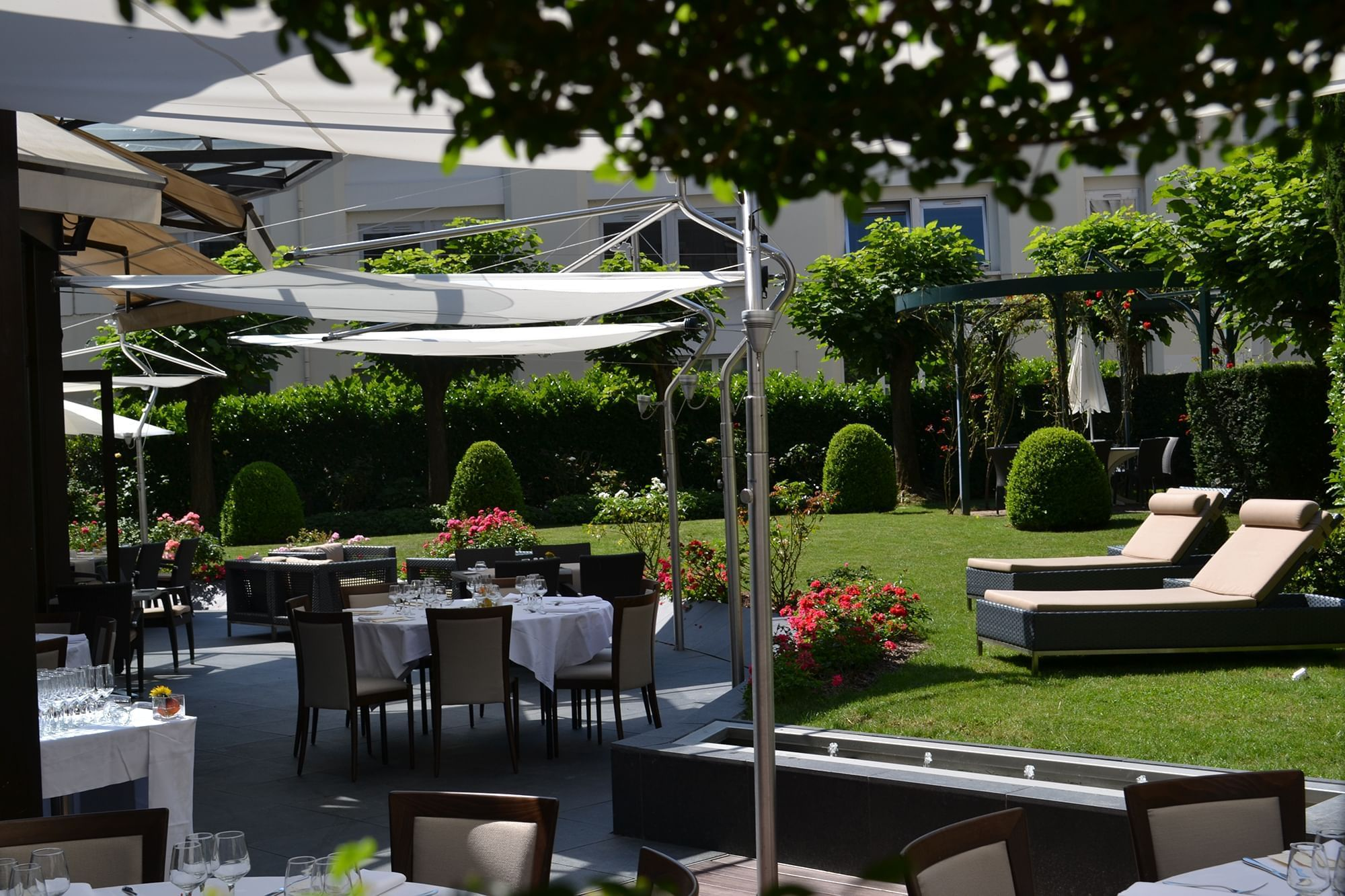 Terrace at Warwick Reine Astrid-Lyon