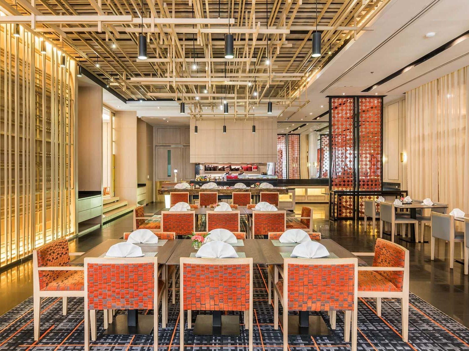 View of Kohaku Japanese Restaurant at Chatrium Hotel Royal Lake