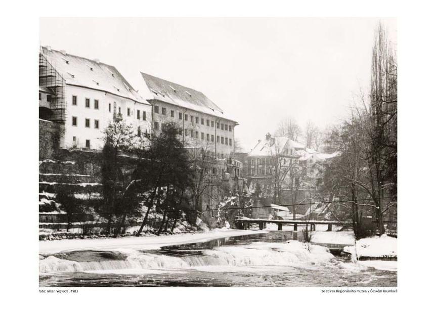 1983 - Hotel Ruze, Český Krumlov, Czech Republic