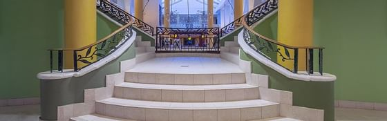 Landscape shot of a Staircase at Holiday Inn Montego Bay