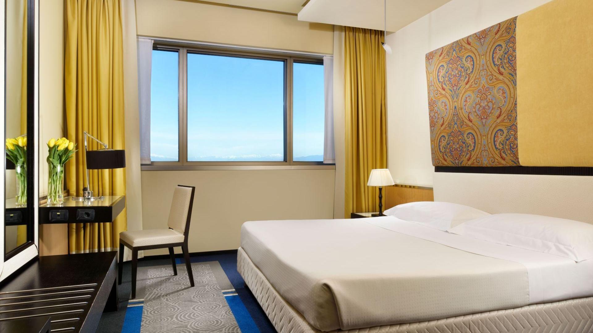 Stanze spaziose per un soggiorno all'insegna del comfort.