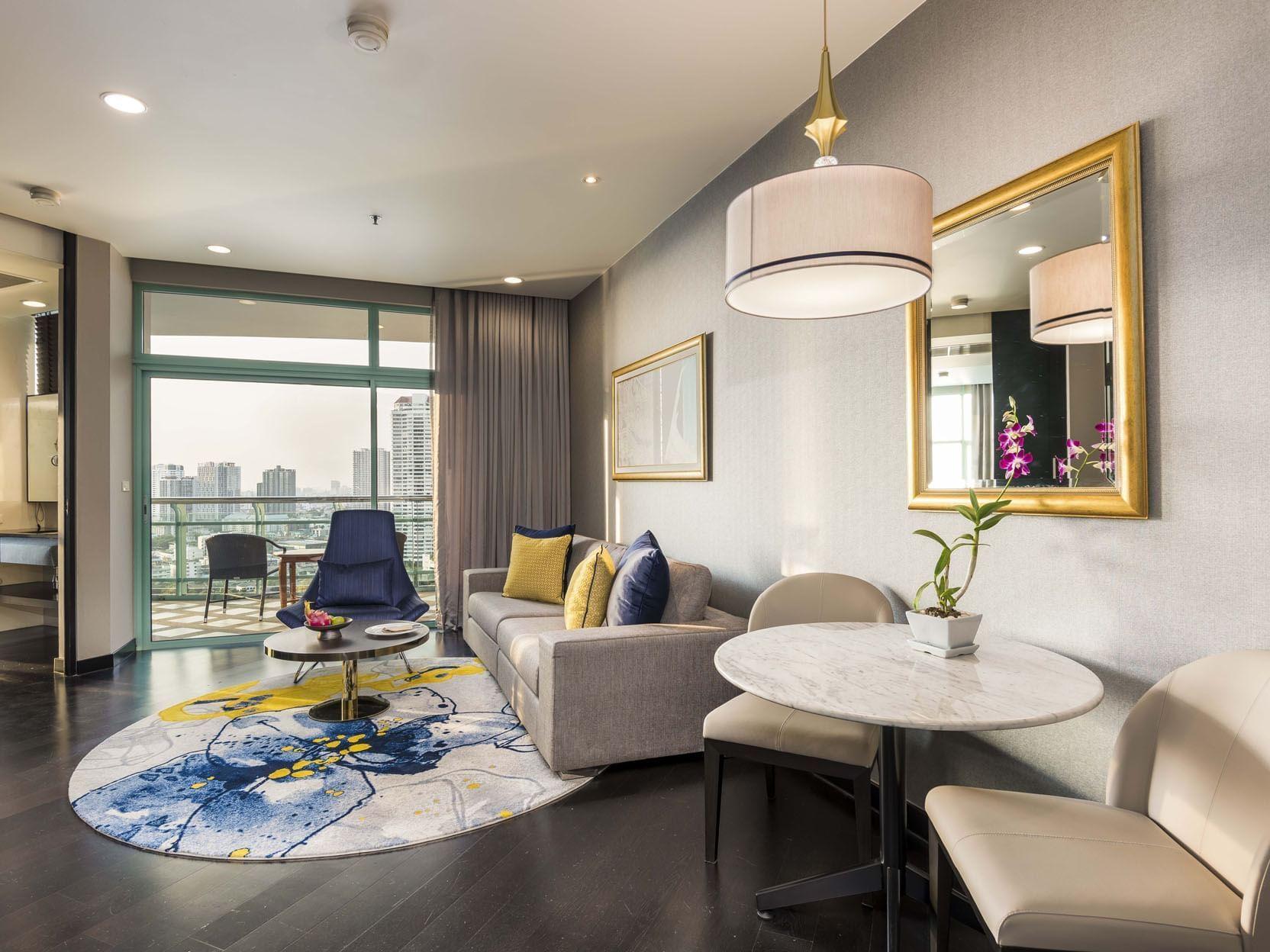 Grand Suite One Bedroom Skyline at Chatrium Hotel Riverside