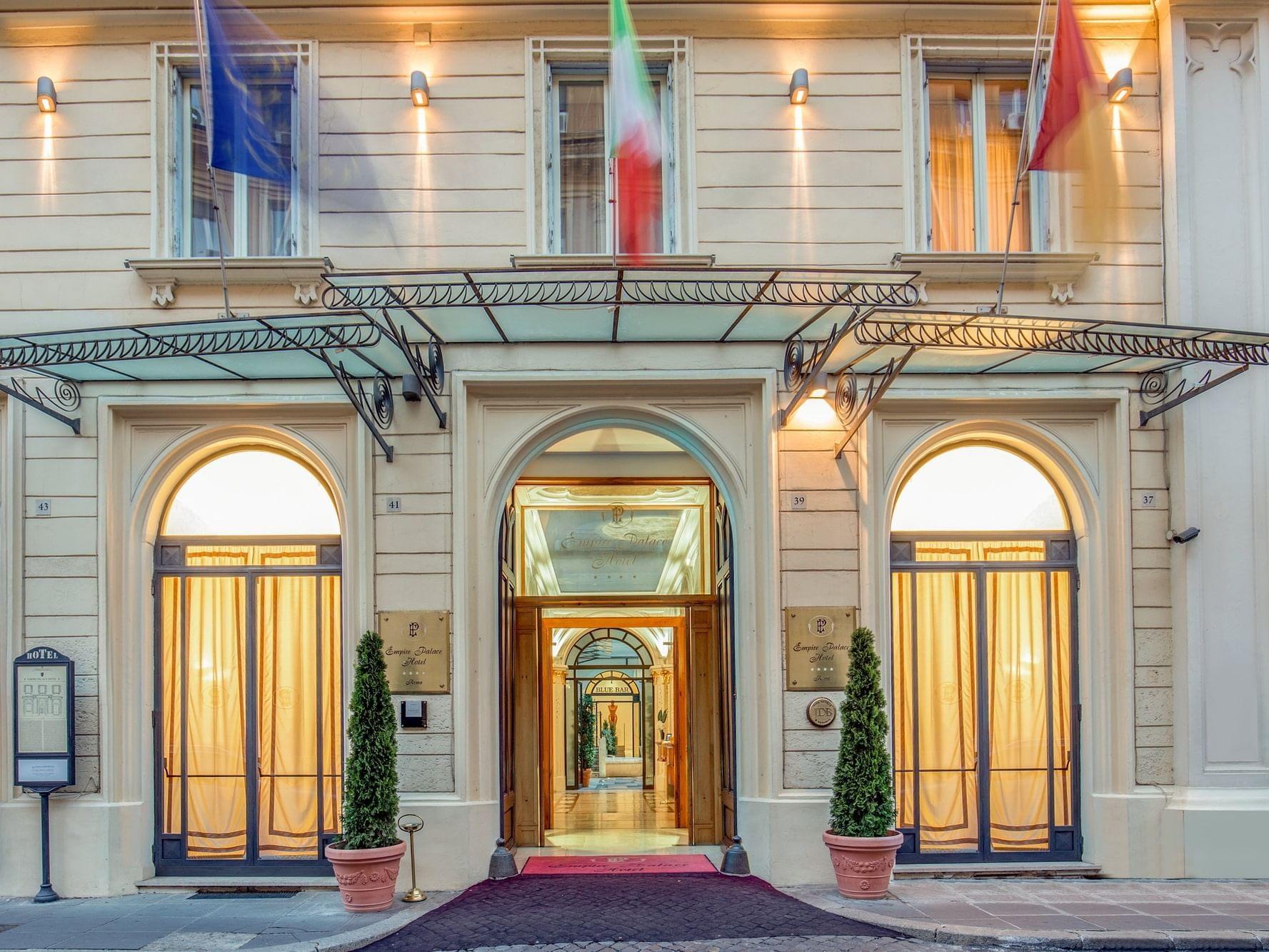 UNAWAY Hotel Empire Roma ti dà il benvenuto
