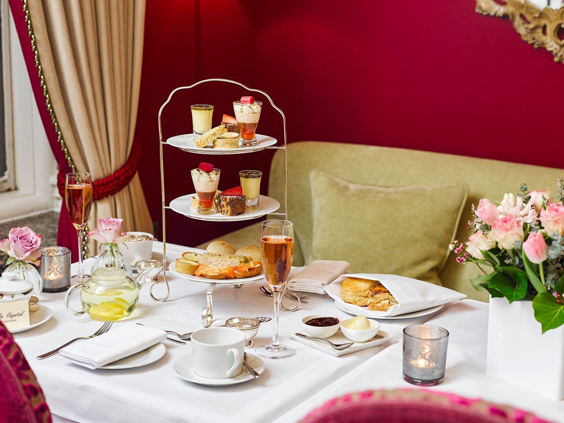 Hotel Capital Londres - Tea Time