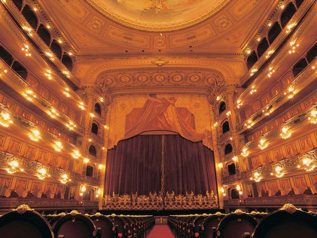 Interior view of Opera House near Hotel Emperador Buenos Aires