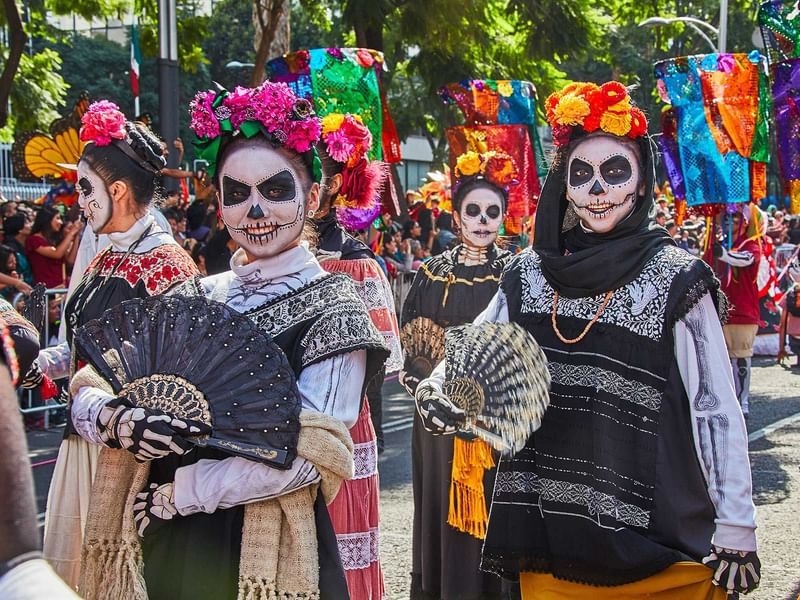 Festival of life and death traditions held near The Reef Resorts