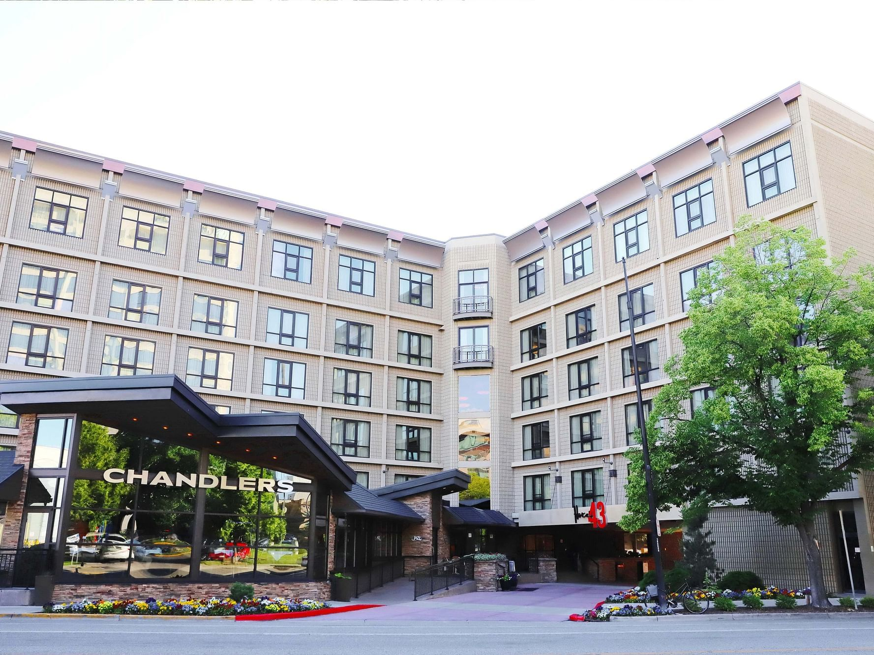 entrance to chandlers
