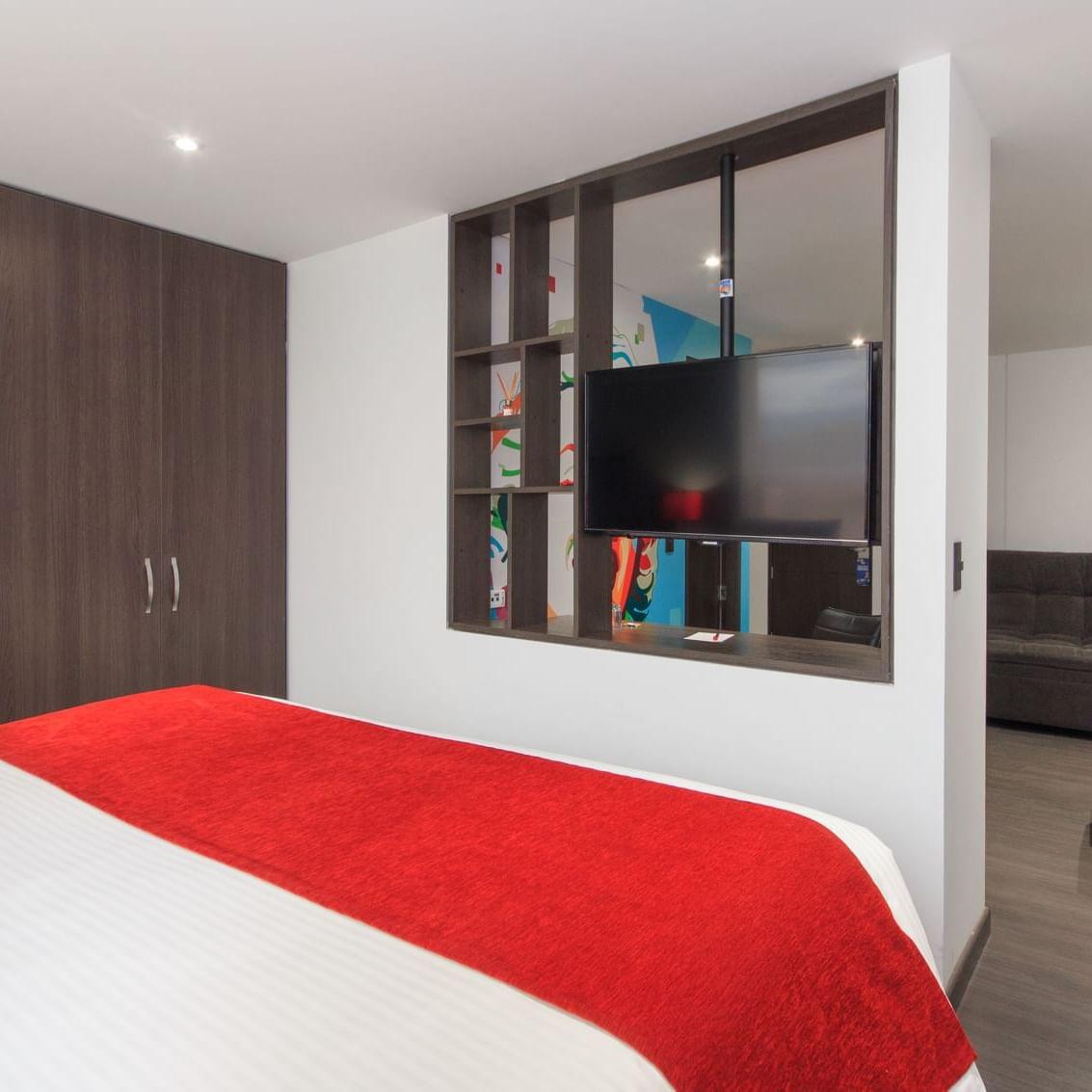 Habitación WOW Suite Hotel POP ART Tocancipá