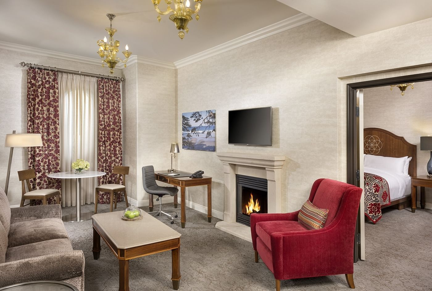 Suite at Allegretto Vineyard Resort in Paso Robles