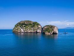 isla en el océano