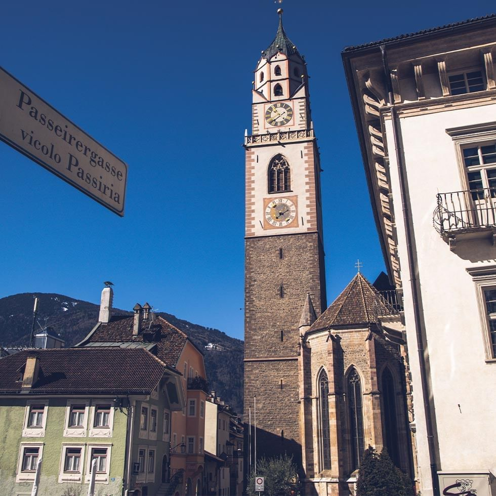 City in South Tyrol near Falkensteiner Hotels and Residences