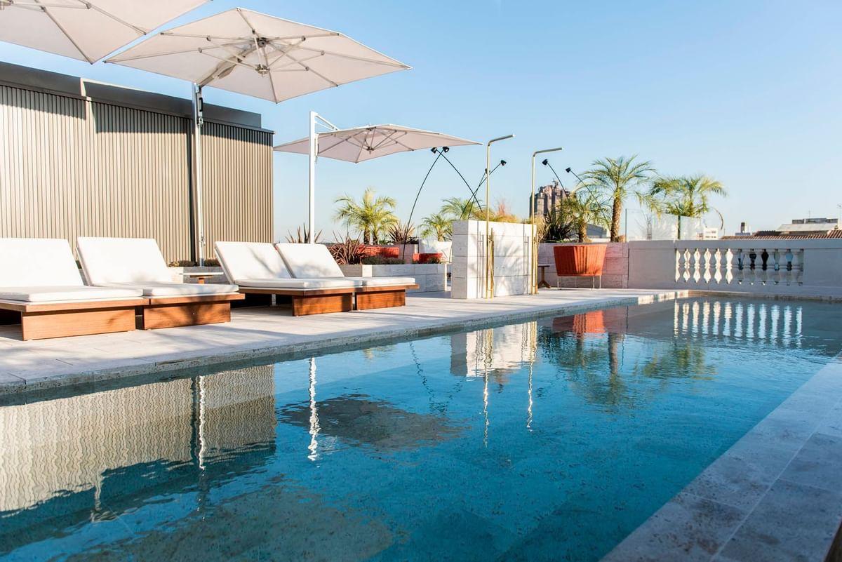 Inspired Spaces Pool at Almanac Barcelona