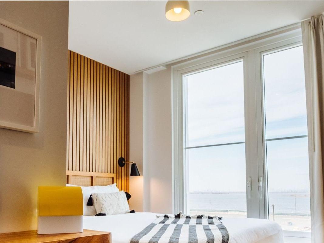 Standard King Bay View room at The Rockaway Hotel
