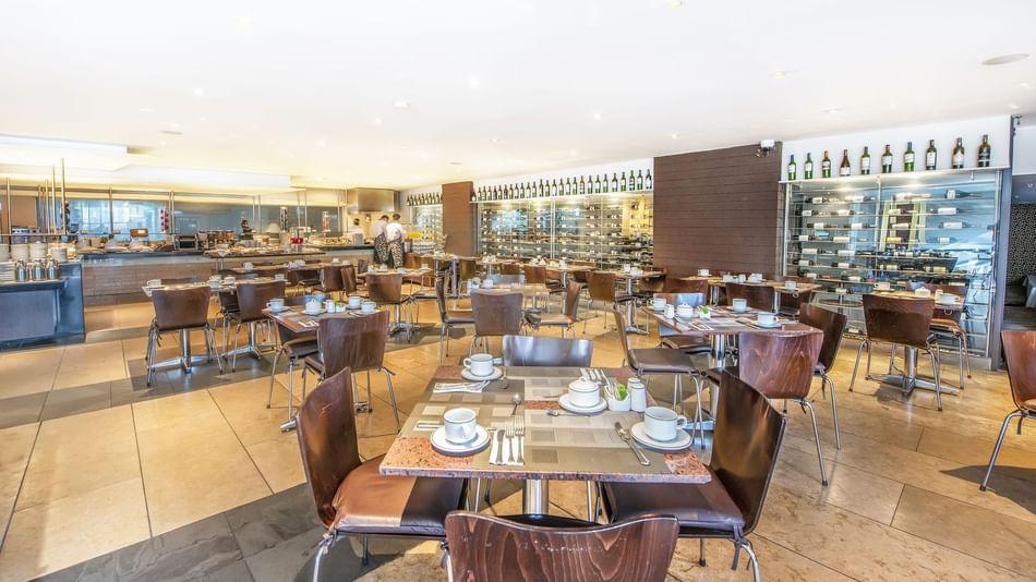 Dining area in La Macuira restaurant at Bogotá Plaza Hotel